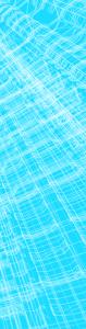 Structure bleue centre fin